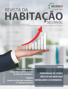Revista Secovi-SC 38ª Ed.